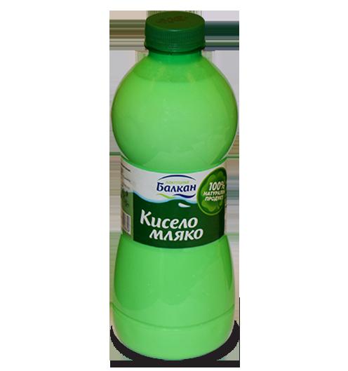 кисело мляко в бутилка