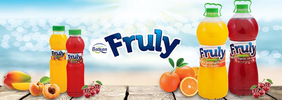 soft drinks Fruly
